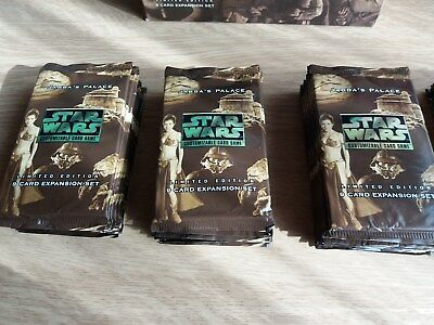 Star Wars CCG, Jabba´s Palace, limited Edition, OVP, 1 Booster