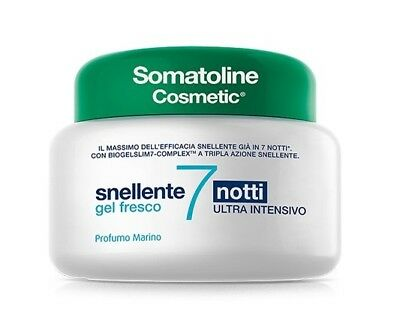 Somatoline Snellente Cosmetic 7 Notti Gel Fresco 400ML