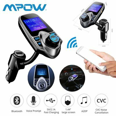 Bluetooth FM Transmitter MP3 Player Auto USB Charger KFZ Freisprechanlage SD AUX