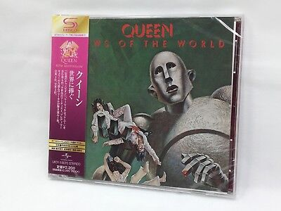 Queen News of the World SHM-CD Japan Original Remastered from Japan