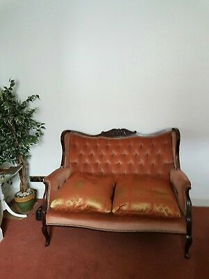 Victorian 2-seater sofa, delivery available.