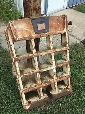 Vintage Cast Iron Oliver Tractor Grill P/N 158875, Rat Rod Grill, Man Cave Decor