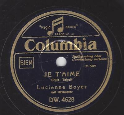 Lucienne Boyer 1941 : Je T `aime + Embrasse-Moi