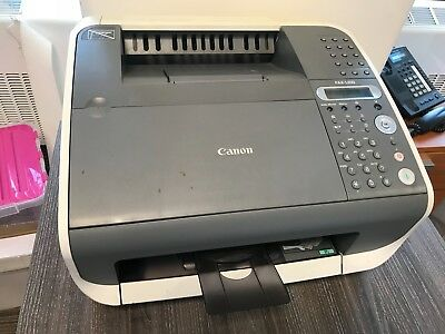Canon fax machine no. KPQ03853 with UNUSED FX10 Cartridge