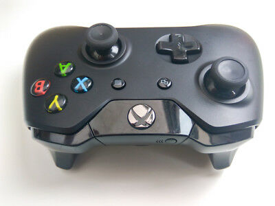 GENUINE OFFICIAL XBOX ONE WIRELESS CONTROLLER - black