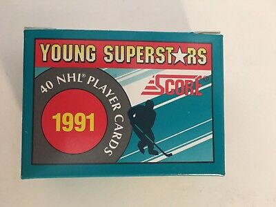 1991 Score Young Superstars Hockey Complete Boxed Set 40 Cards NM/M Fedorov