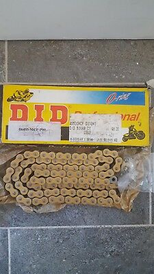 DID Heavy Duty Motorcycle O-Ring Drive Chain 530-110 Links Gold