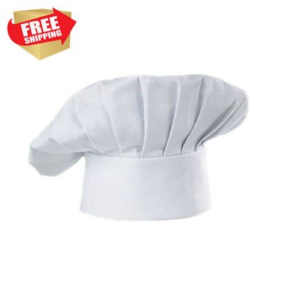 Chef Hat For Adults Kids Adjustable Elastic Baker Kitchen Cooking Chef Cook Cap