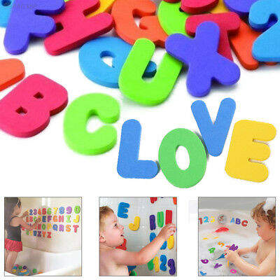 142E 36Pcs Education Alphabet Learning Toy Intelligence Bath Foam Letters Number