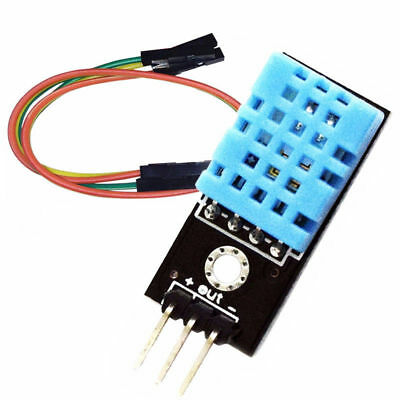 DHT11 Digital Temperature And Relative Humidity Sensor Module for Arduino Kits