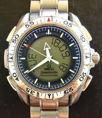 Ω Omega Speedmaster Mission X-33 Titanium Space NASA Multifunktionen Chronograph