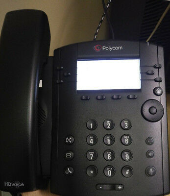Polycom VVX 300 VoIP IP SIP Business Media Phone W/STAND Part #2201-46135-001