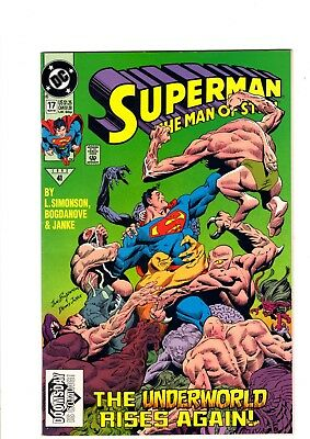 Superman -Man of Steel #17 - 1st appearance Doomsday