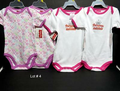 4 Pc Baby Girls Clothes Lot #4 Fisher Price And Teddy Boom For Twins