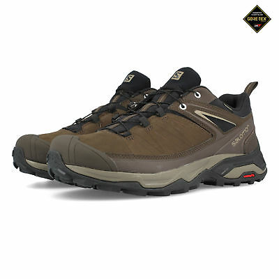 SALOMON MENS X Ultra 3 LTR GORE TEX Walking Shoes Brown