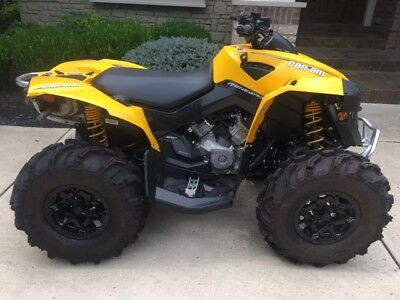 Can-Am Renegade 500 Atv Yellow Like New