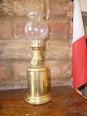 Oil Lamp. French. 'Olympe'.