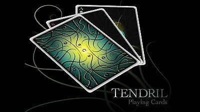 Encarded V1 Tendril Playing Cards Deck By Paul Carpenter Theory Magic Trick RARE