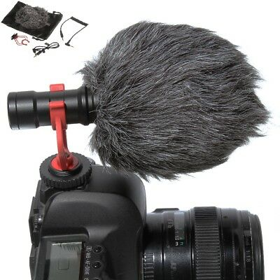 US BOYA BY-MM1 Shotgun Video Recording Mic Microphone fr Cellphone Camera iphone