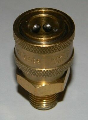 """1/4"""" Power Pressure Washer QC Quick Connect Coupler Socket MPT Male Pipe Thread"""