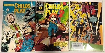 Child's Play 2 Complete SET 1 2 3 Movie Adaptation 1991 Innovation Chucky DR