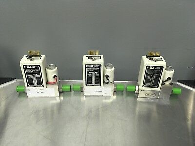 Lot of 3 Precision Flow Devices Model 401, 401MS, Used Excellent 02 N2 SiH2Cl2