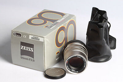 Carl Zeiss Sonnar  2.8 / 90mm   T*  for Contax G1-2