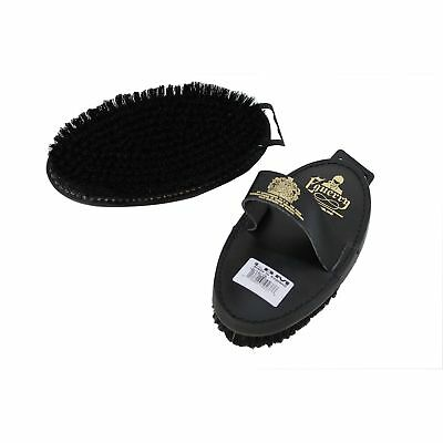 Equerry Natural Bristle Leather Body Brush (TL1539)