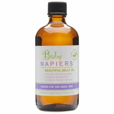 Napiers Baby Beautiful Belly Massage Oil 100ml