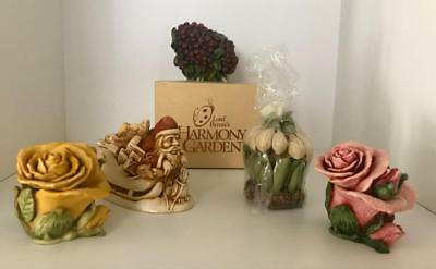 Harmony Garden Collectibles Set Of 5 Including Retired & Limited Edition Pieces