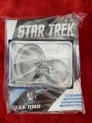 USS TITAN STAR TREK Official Starship Collection NEU OVP SPECIAL