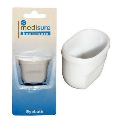 Medisure Eye Bath, Eye Bath, Eye Lid Wash, Plastic Cup, First Aid, Medical