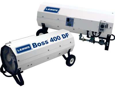 LB White Boss 400 DF Direct-Fired Portable Heater