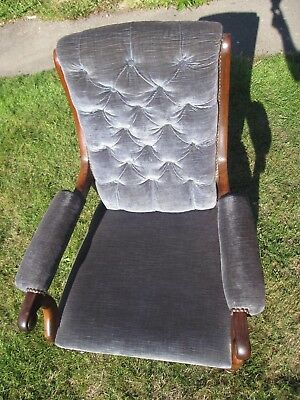 Antique 1800's Rose Wood Chair