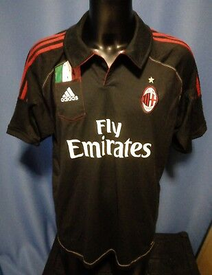 AC Milan Football Polo Shirt size XXL 2XL