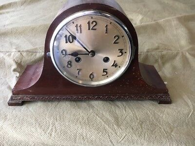 Old Rare ? Vintage Mantle Clock Antique  Shelf Junghan Clock Company? Vintage