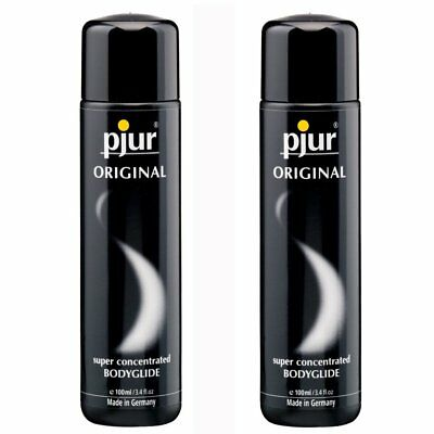 2 Pjur Original Silicone Based Lube Lubricant BodyGlide 100 ml Made in Germany