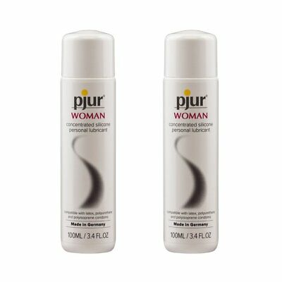 2PK Pjur Woman BodyGlide Silicone Based Personal Lubricant Lube Madein Germany