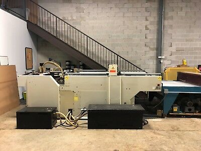 1993 Sakurai Cylinder Press line  with UV Curing & Stacker. SC-112 A2