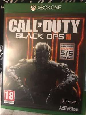 Excellent  Condition ( Call Of Duty - Black Ops 3 ) Brilliant  Xbox One Game
