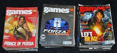 Games TM Magazine Collection/Lot 69 Issues  Gaming Gamers Console PS Sega XBOX