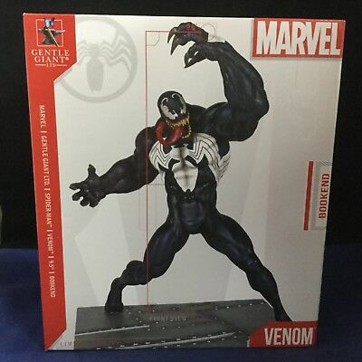 Venom - Gentle Giant LTD 9.5 Inch Bookend - Limited Edition - Marvel 2013 New