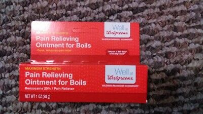 Walgreens Pain Relieving Ointment For Boils Compare To Boil Ease