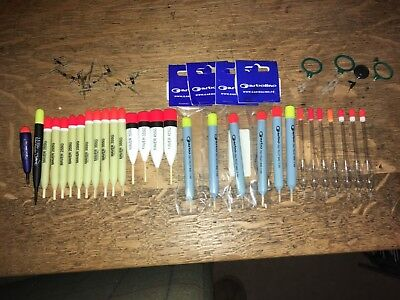 Garbolino, Maver and Drennan Pellet waggler floats