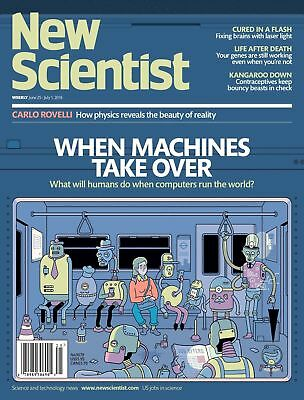 NEW SCIENTIST MAGAZINE 25th JUNE 2016 SPECIAL OFFER BUY ANY 6 ISSUES FOR £10.00
