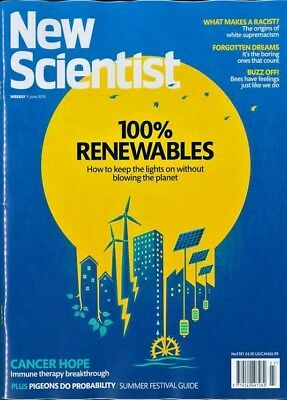 NEW SCIENTIST MAGAZINE 9th JUNE 2018 ~ SPECIAL OFFER BUY ANY 6 ISSUES FOR £10.00