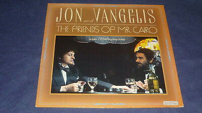 Jon and Vangelis - The friends of Mr. Cairo - Polydor 2302 127   Germany 1981