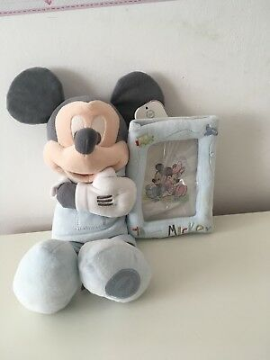 Disney Mickey Mouse picture frame- blue