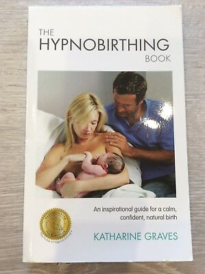 THE HYPNOBIRTHING BOOK by Katharine Graves + CD - GREAT CONDITION