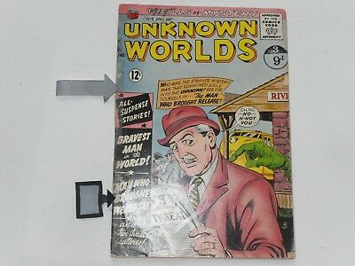 Unknown Worlds  #15 Apr / May 1962   Acg Comics  10 Cents   Good Condition